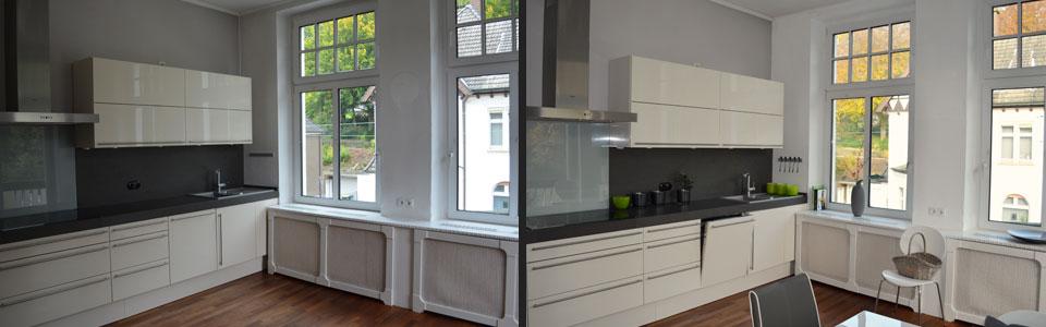 feinrichten | agentur für home staging & home styling | referenzen - Küche Altbau
